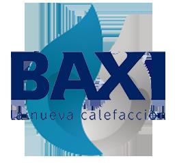 Reparacion de calderas de gas Baxi en Alcorcon. Logo calderas Baxi.