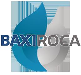 Reparacion de calderas de gas BaxiRoca en Alcorcon. Logo calderas BaxiRoca.