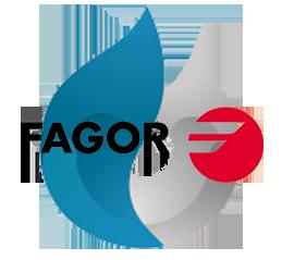 Reparacion de calderas de gas Fagor en Alcorcon. Logo calderas Fagor.