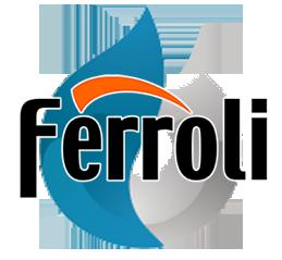 Reparacion de calderas de gas Ferroli en Alcorcon. Logo calderas Ferroli.