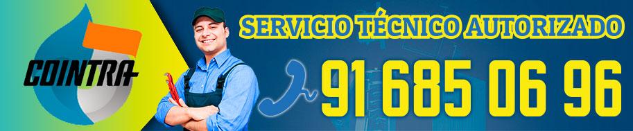servicio tecnico de reparacion de calderas Cointra en Alcorcon