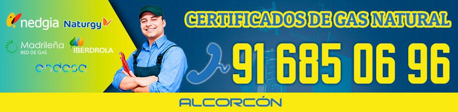 Certificados de gas natural en Alcorcón