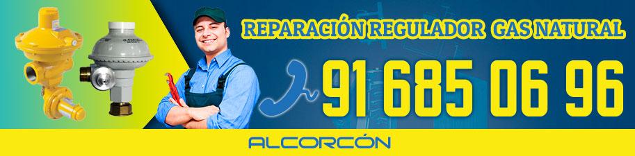 Reparación regulador de gas natural en Alcorcón
