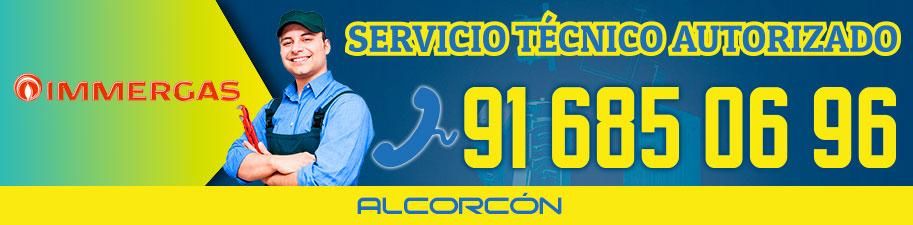 Servicio Técnico calderas Immergas Alcorcón