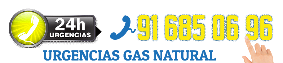 Reparación URGENTE 24 HORAS urgencias gas natural en Alcorcón